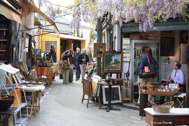 巴黎市集 #3 聖圖安跳蚤市場 Marche aux puces- St Ouen