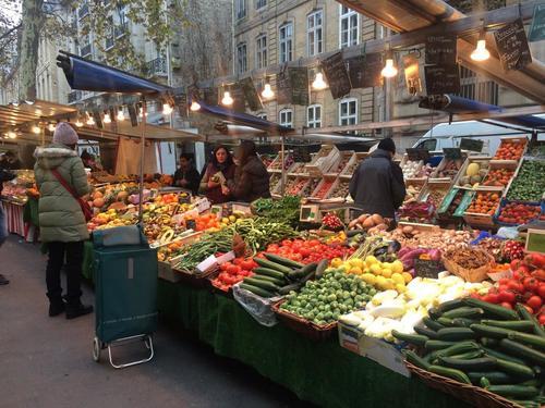 巴黎市集 #6 拉斯拜爾有機市場 Marché Boulevard Raspail