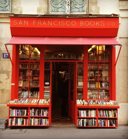 Paris Bookstore #1 English Bookstore Paris: San Francisco Bookshop Paris 1024x1024.jpg