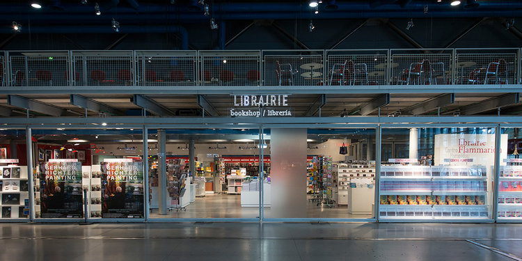 Paris Bookstore #6 Librairie Flammarion at Centre Pompidou