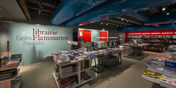 Librairie Flammarion at Centre Pompidou 2