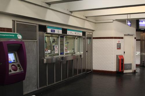 巴黎交通卡售票處