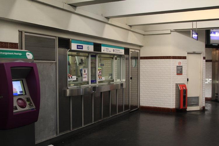 巴黎交通卡 - Navigo卡 售票處