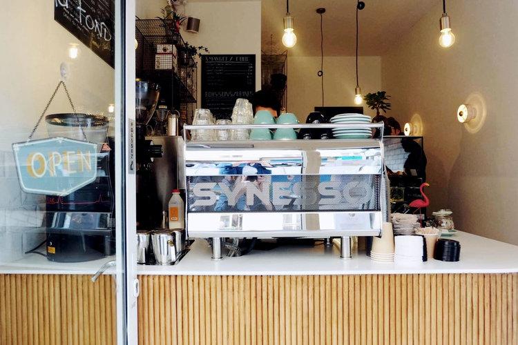 5 Pailles 舒適咖啡館