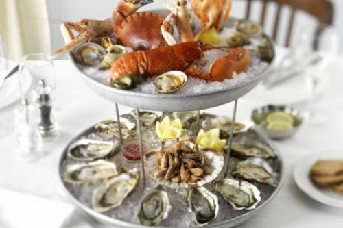 Pamper yourself with oysters: La Coupole