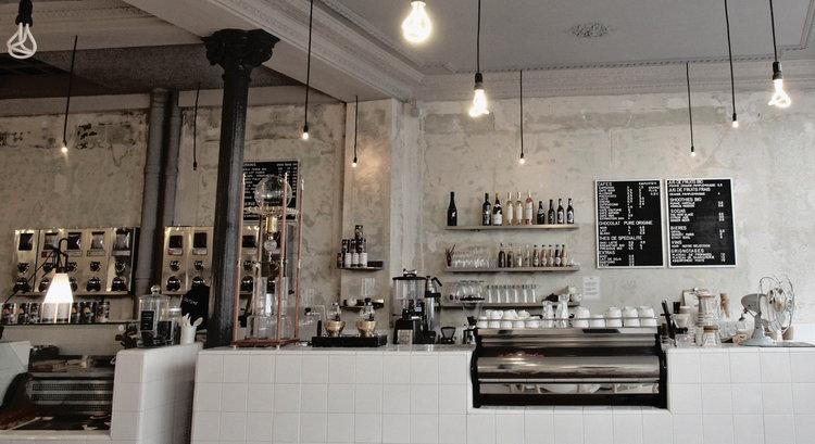 特色巴黎咖啡廳 #2 STEEL CYCLEWEAR & COFFEESHOP 室內設計