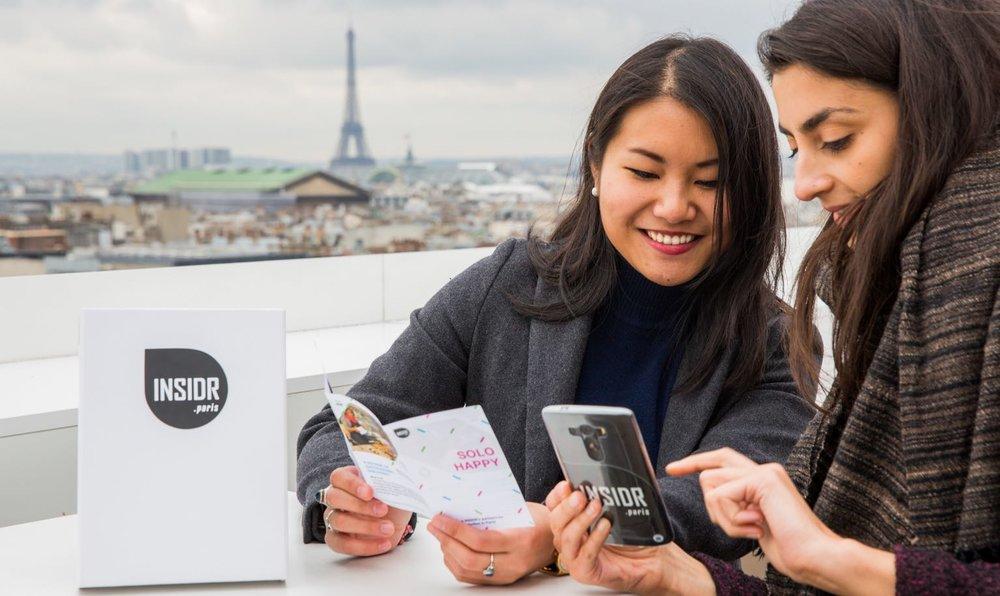 INSIDR Paris free guide