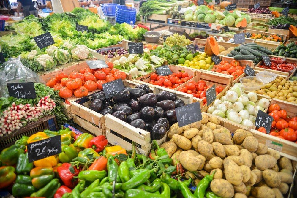 farmer's market in france