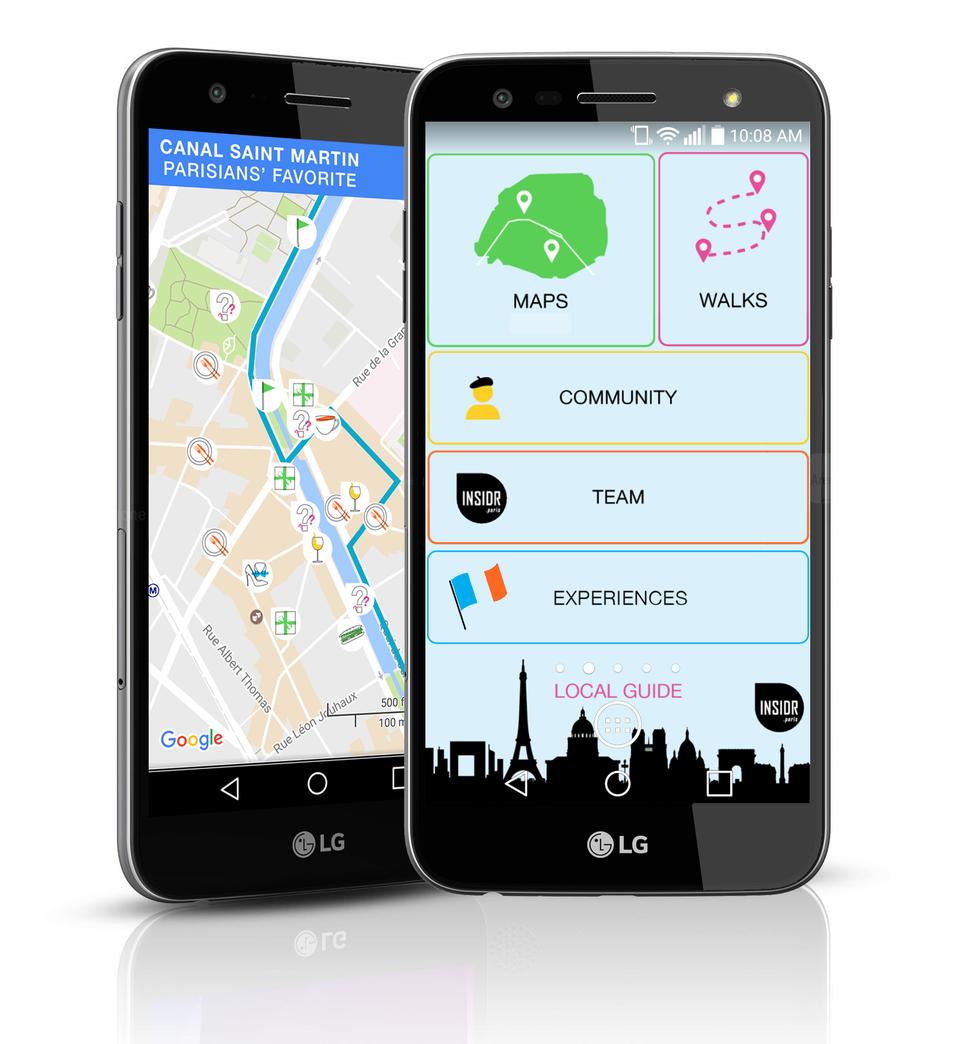 INSIDR Paris Smartphone