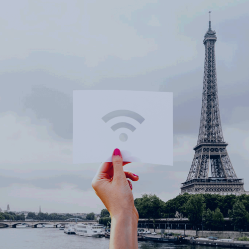 WiFi and Data roaming in Paris