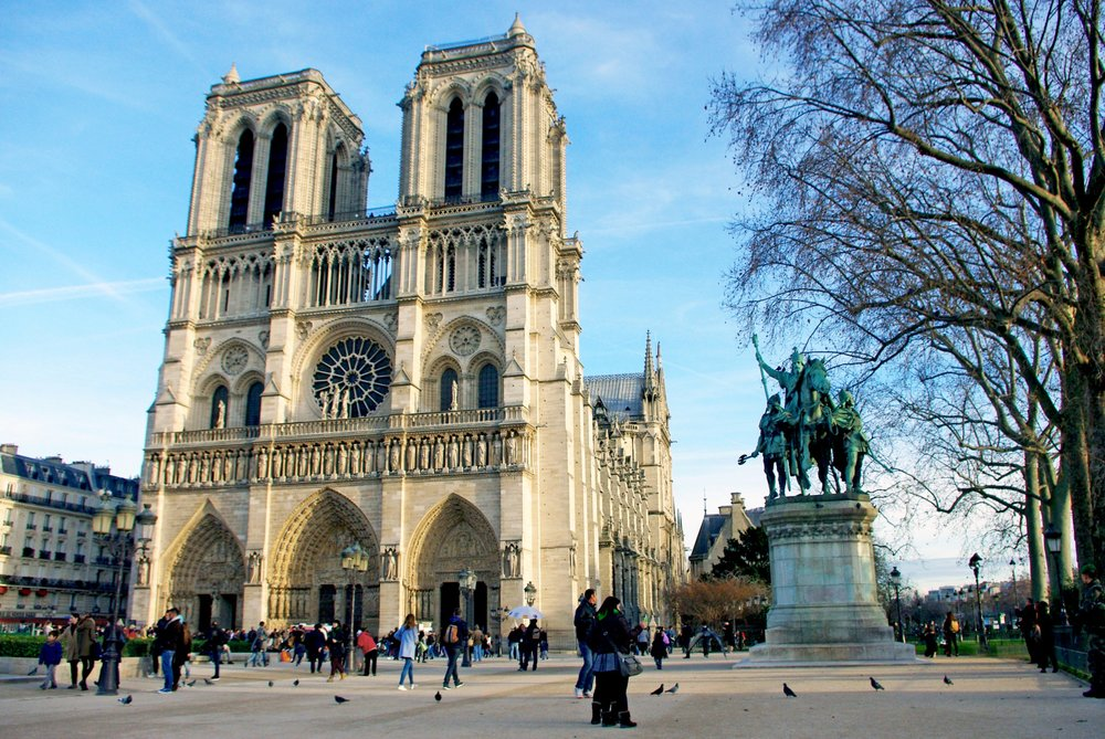 The Notre Dame; Photo credit: French Moments