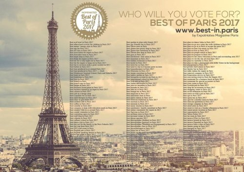"INSIDR has been nominated ""Best Innovative Service in Paris"""