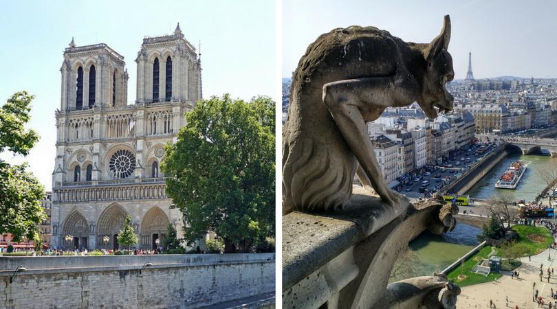 必去巴黎景點 -  巴黎聖母院  Cathédrale Notre-Dame de Paris