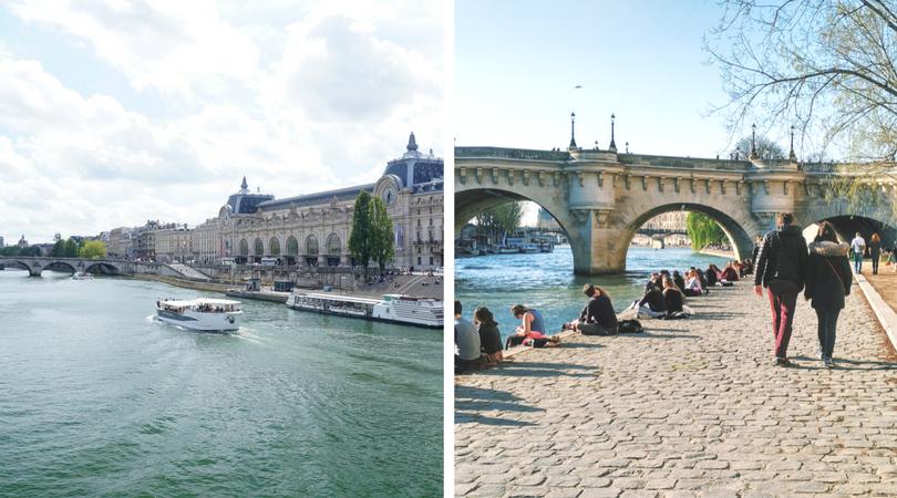 必去巴黎景點 -  塞納河