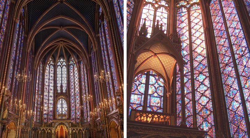 聖禮拜堂Sainte-Chapelle