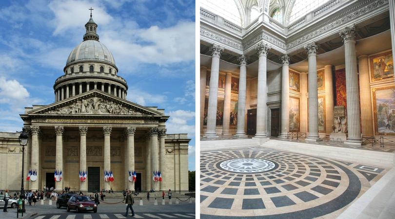 必去巴黎景點 -  巴黎萬神殿