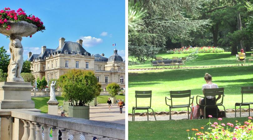 必去巴黎景點 -  盧森堡公園