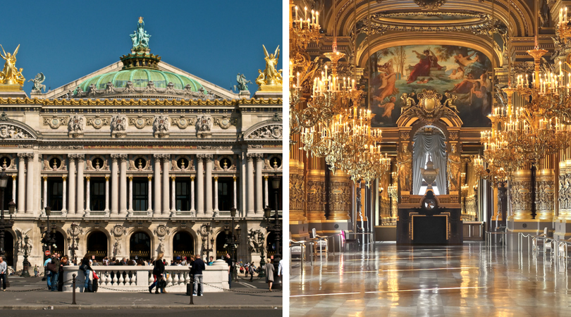 必去巴黎景點 -  巴黎歌劇院