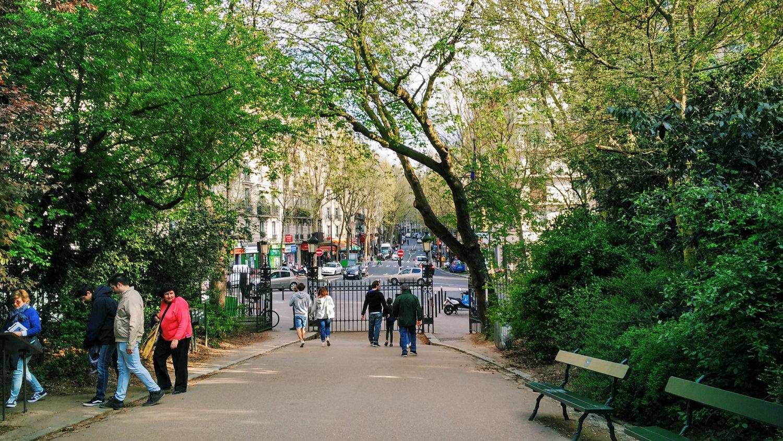 Parc de Bercy ในช่วงฤดูใบไม้ร่วงที่ปารีส (รุปภาพจาก @photos.parisinfo.com)