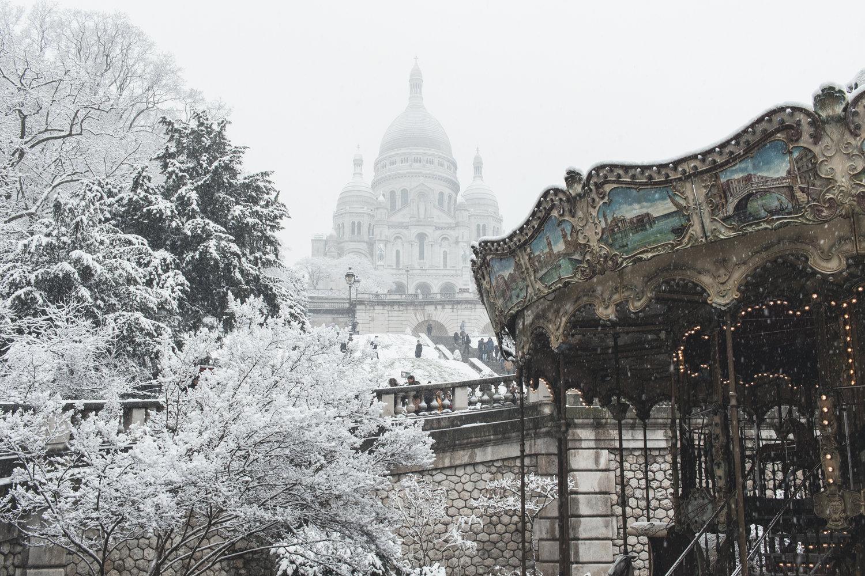 ตลาดคริสต์มาสในปารีส(รูปภาพจาก @photos.parisinfo.com)
