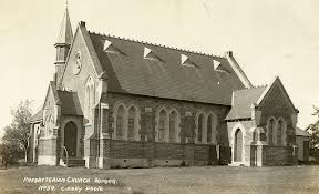 Presbyterian Church, Dungog by George Kelly of Dungog 1913
