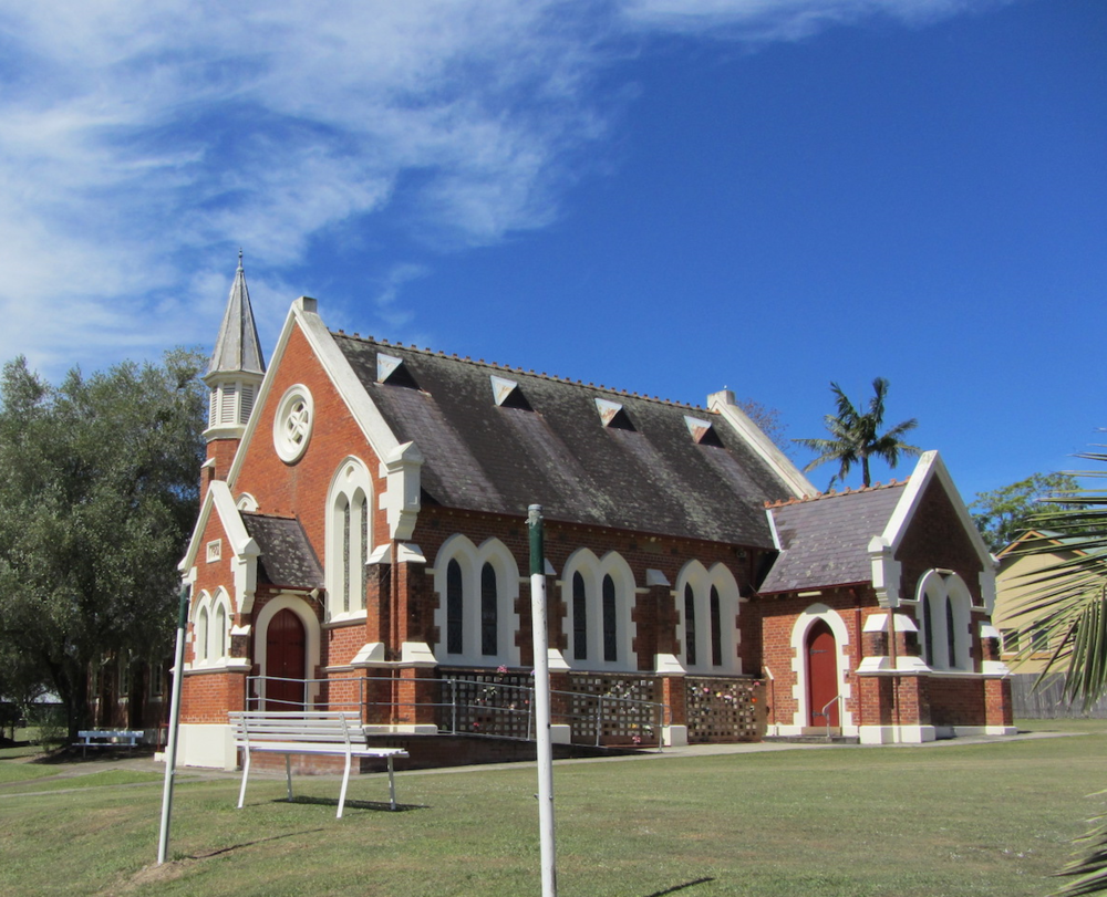 St Andrew's Presbyterian Church, Dungog, December 2013