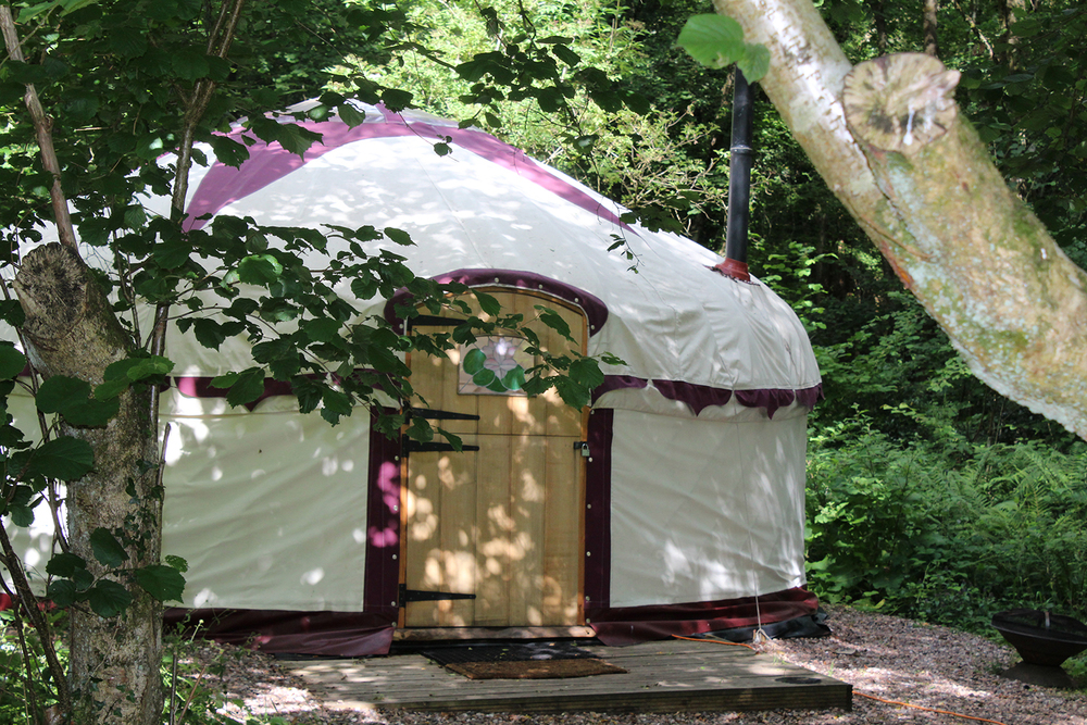 Hand crafted yurt