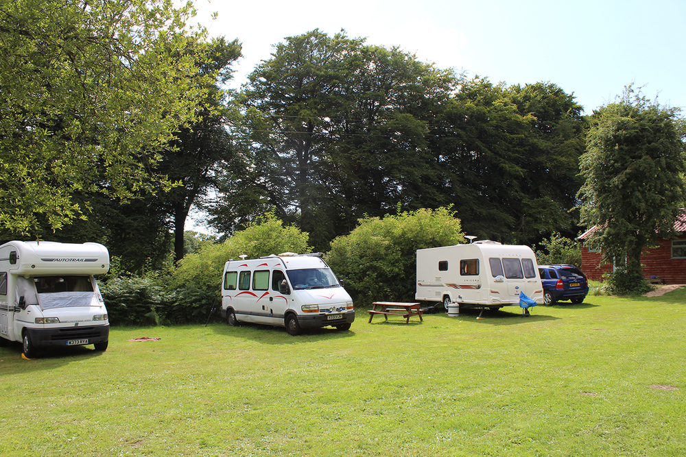 Ideal for campers and touring vans