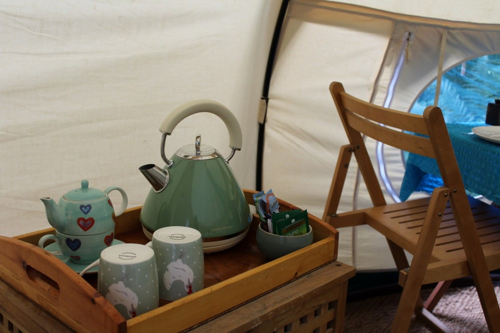 tea and coffee making facilities