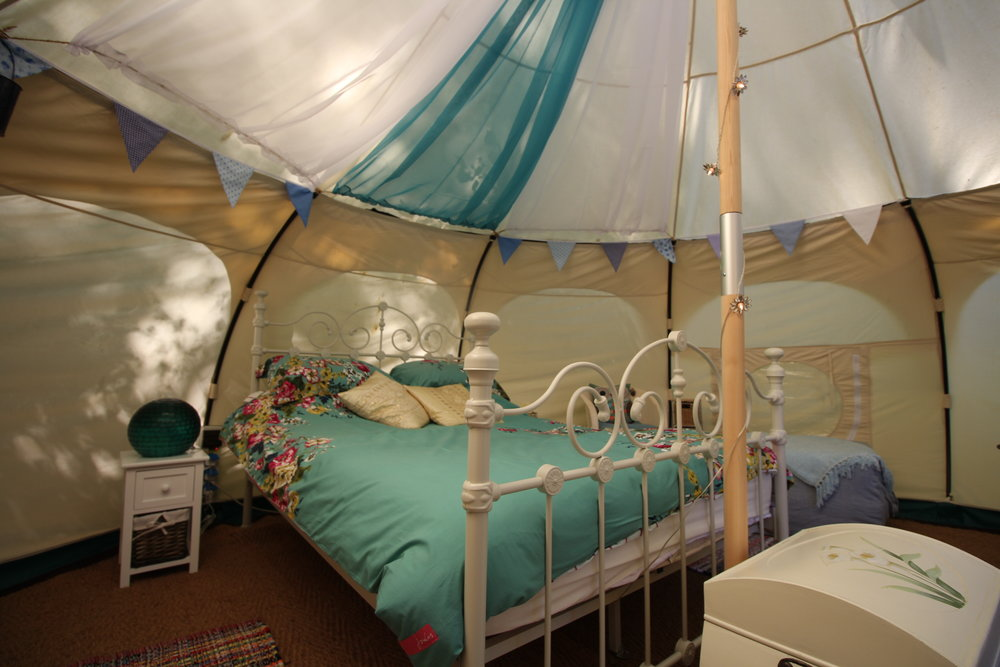 beautiful bell tent