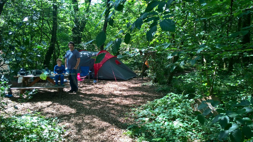 From £30 per night - non-electric. maximum tent size of 5m