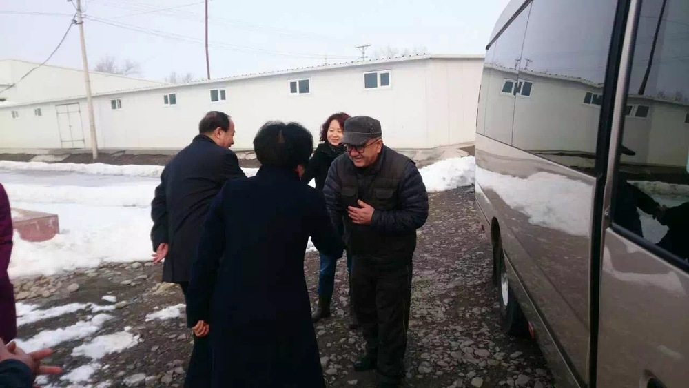 Delegates of the Fukang People's Congress visit uibek
