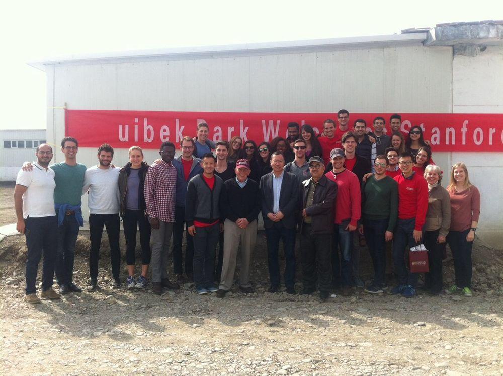 美国斯坦福大学商学院硕士班同学们访问尤贝