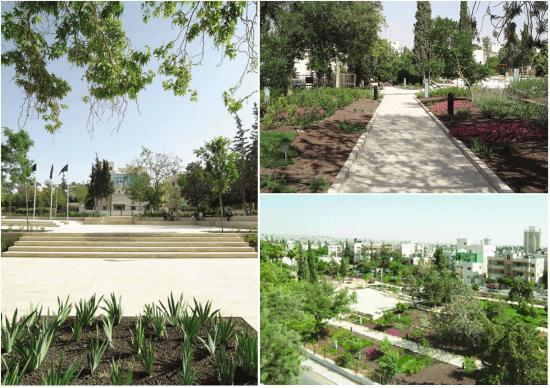 Images of the park after its rehabilitation in 2005   صور للحديقة بعد إعادة تأهيلها في ٢٠٠٥