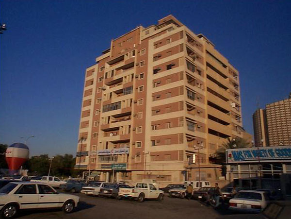 Figure 12: A view of the late-1960s Zahrat al-Riyadh apartment building.