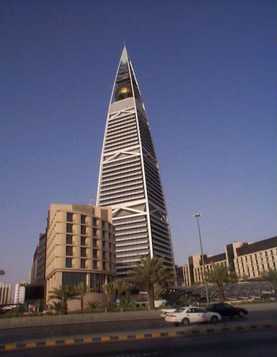 Figure 36: A view of the 2000 Faisaliah Tower, designed by Norman Foster and Partners.