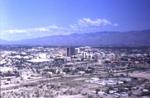 Fig. 7: Urban sprawl in Tucson.
