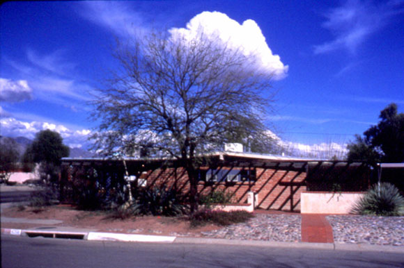 Figure 1: A view of the Casa del Agua demonstration project in Tucson, Arizona.