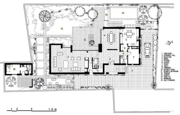 Figure 4: Abdulwahab House, ground floor plan.