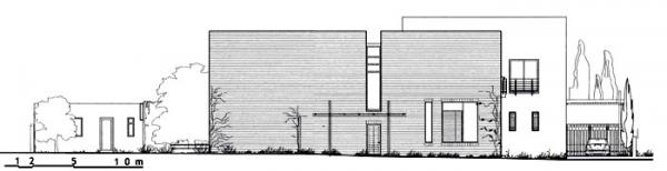 Figure 5: Abdulwahab House, elevation drawing of eastern façade.