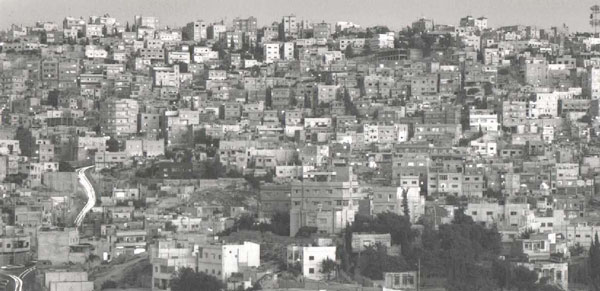 Figure 1 : Al-Jofah Hill in eastren Amman (photographed by Said Nuseibeh)