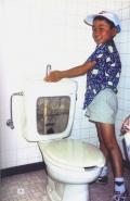 Figure 2.7: Graywater reuse for toilet flushing in Japan