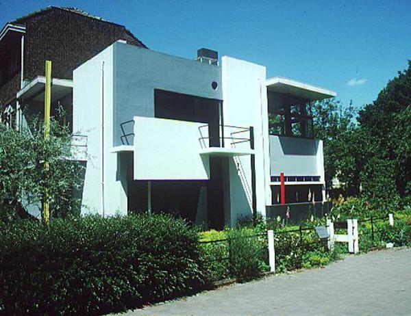 Figure 6: Utrecht, Rietveld-Schroder House by Gerrit Rietveld, 1924.
