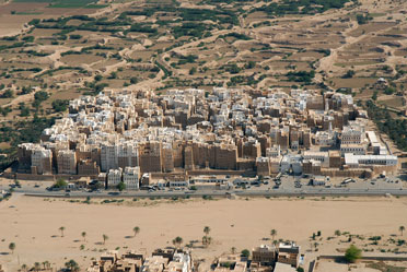 The city of Shibam in Yemen is a striking example of a high-density traditional urban settlement. (Courtesy of the Aga Khan Award for Architecture)