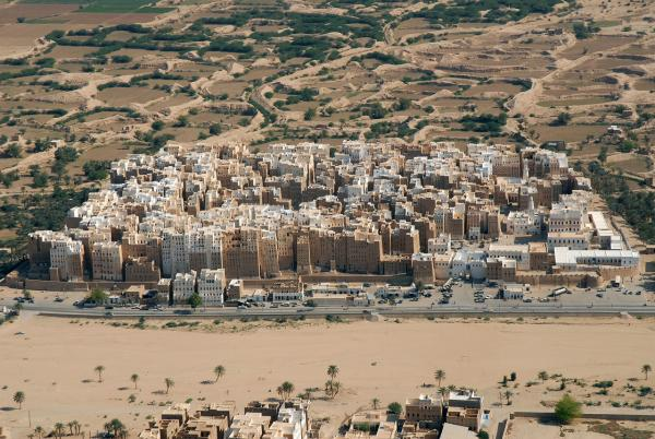 The City of Shibam, Yemen.