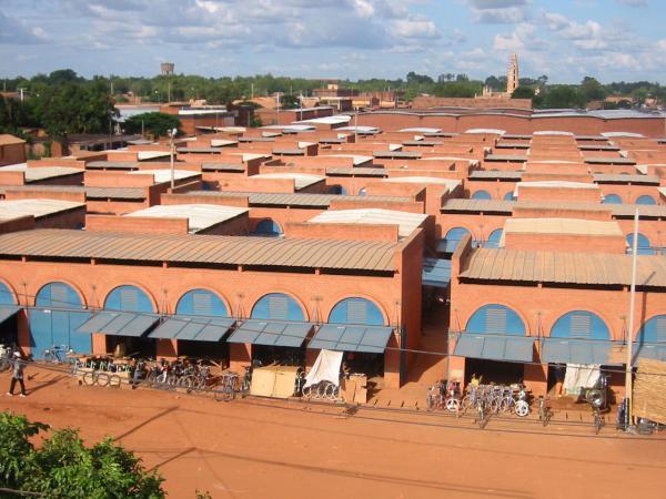 Koudougou Central Market, Burkina Faso.