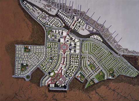 Master-plan for the urban expansion of Zarqa