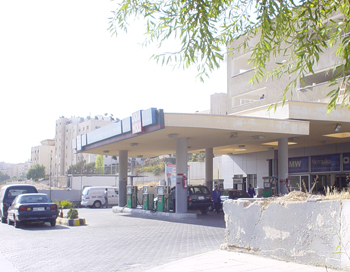 A gas station in Amman (Basma Abdallah)