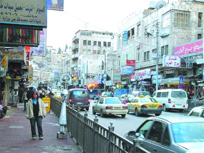 Downtown Amman (The Jordan Times)