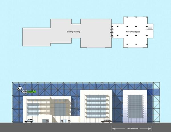 FastLink Headquarters Extension Building